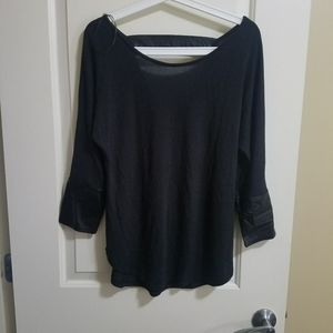 Dynamite top with faux